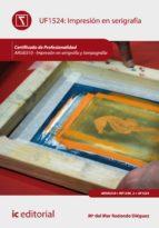 Impresión en serigrafía. ARGI0310  (ebook)