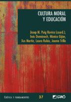 Cultura moral y educación (ebook)