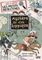 Léo et Maya, détectives - tome 3 : Mystère au club hippique (ebook)