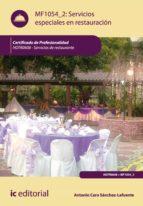 Servicios especiales en restauración. HOTR0608 (ebook)