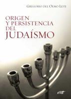 Origen y persistencia del judaismo (ebook)