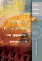 Enseigner à l'université dans une approche-programme (ebook)