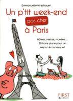 Le Petit Livre de - P'tit week-end pas cher à Paris (ebook)