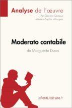 Moderato cantabile de Marguerite Duras (Fiche de lecture) (ebook)
