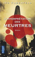 L'interprétation des meurtres (ebook)