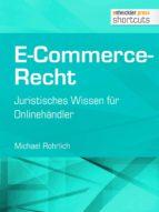 E-Commerce-Recht (ebook)