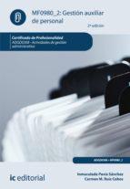 Gestión auxiliar de personal. ADGD0308 (ebook)