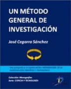 Un método general de investigación (ebook)
