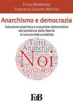 Anarchismo e democrazia (ebook)