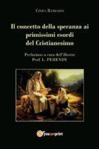 Il concetto della speranza ai primissimi esordi del cristianesimo (ebook)