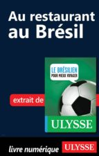 Au restaurant au Brésil (Guide de conversation) (ebook)