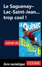 Le Saguenay-Lac-St-Jean...trop cool! (ebook)