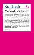 Kursbuch 184