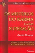 Os Mistérios do Karma e Sua Superação (ebook)