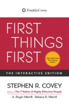 First Things First (ebook)