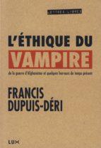 L'éthique du vampire (ebook)