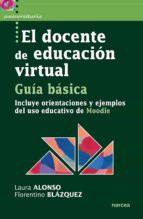 El docente de educación virtual. Guía básica (ebook)
