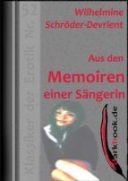 Aus den Memoiren einer Sängerin (ebook)