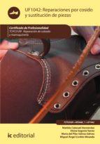 Reparaciones por cosido y sustitución de piezas. TCPC0109  (ebook)