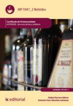 Bebidas. HOTR0508 - Servicios de bar y cafetería (ebook)