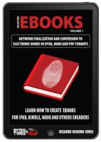 eBooks Collection - Artwork finalization and conversion to electronic books in ePub, Mobi and PDF (ebook)