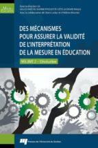 Des mécanismes pour assurer la validité de l'interprétation de la mesure en éducation (ebook)