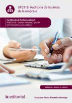 Auditoría de las áreas de la empresa. ADGD0108  (ebook)