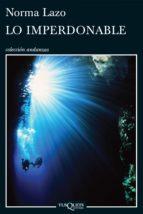 Lo imperdonable (ebook)