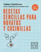RECETAS SENCILLAS PARA NOVATOS Y COCINILLAS