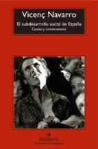 El subdesarrollo social de España (ebook)