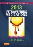 2013 Intravenous Medications (ebook)