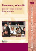 Emociones y educación (ebook)