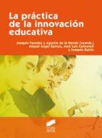 La práctica de la innovación educativa (ebook)