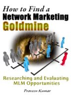 How to Find a Network Marketing Goldmine (ebook)