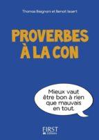 Petit livre de - Proverbes à la con (ebook)