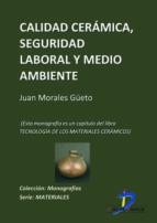 Calidad cerámica, seguridad laboral y medioambiente (ebook)