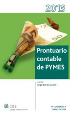 Prontuario contable de PYMES 2013 (ebook)