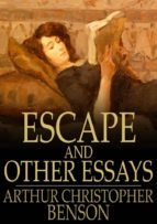 Escape and Other Essays (ebook)