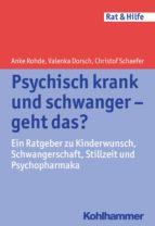 Psychisch krank und schwanger - geht das? (ebook)