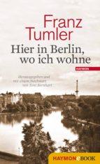 Hier in Berlin, wo ich wohne (ebook)