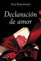 Declaración de amor (ebook)