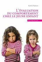 L'évaluation du comportement chez le jeune enfant (ebook)
