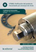 Verificación del producto mecanizado por arranque de viruta. FMEH0109  (ebook)