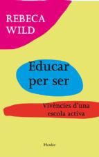Educar per ser (ebook)