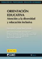 Orientación Educativa. Atención a la diversidad y educación inclusiva (ebook)
