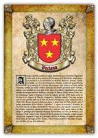 Apellido Veciana / Origen, Historia y Heráldica de los linajes y apellidos españoles e hispanoamericanos