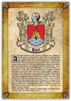 Apellido Riart / Origen, Historia y Heráldica de los linajes y apellidos españoles e hispanoamericanos