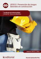 Prevención de Riesgos Laborales en Construcción. EOCB0108 (ebook)