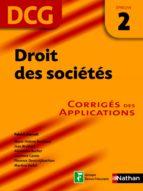 Droit des sociétés - épreuve 2 - DCG corrigés (ebook)