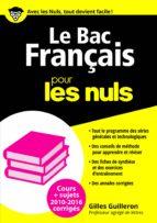 Le Bac Français 2016 pour les Nuls (ebook)